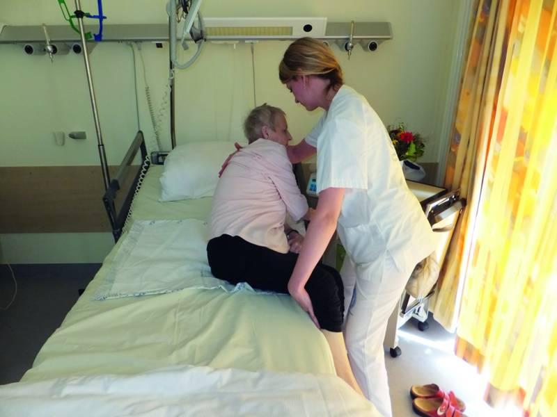 Wandle Bett bauchdeckentlastende mobilisation nach abdominalchirurgie raus aus